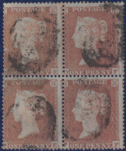 106906 - PL.198 (OE OF PE PF) BLOCK OF FOUR (SG17).