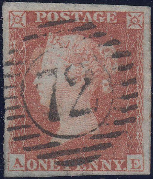 107229 - PL.161 (AE)(SG8)/VERY THIN PAPER/MISSING IMPRIMATUR LETTERING.