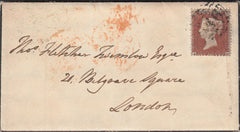107386 - PL.203 (AH) S.C.14 (SG22) ON MOURNING ENVELOPE/MISSING IMPRIMATUR LETTERING.