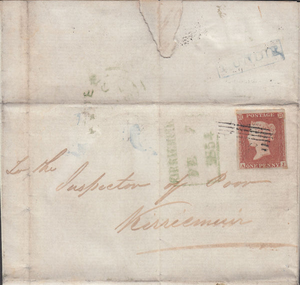 107482 - LUNDIE SCOTS LOCAL/PL.165 (AJ)(SG8)/MISSING IMPRIMATUR LETTERING.