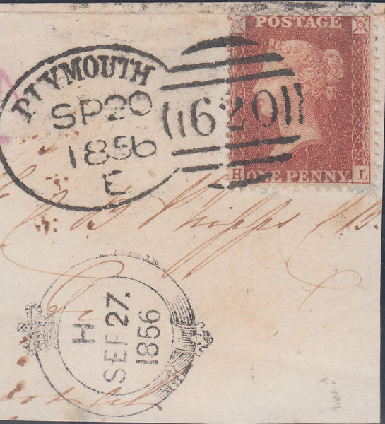 107507 - PLYMOUTH SPOON/PL.44 (HL)(SG29)/MISSING IMPRIMATUR LETTERING.