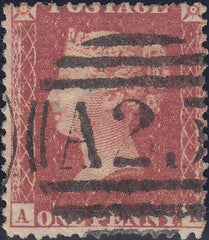109231 - PL.59 (AK)(SG40)/SHORT A ROW STAMP/USED IN MALTA.