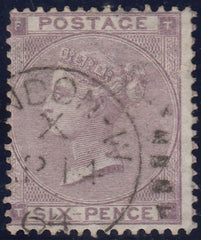 114377 1962 6D LILAC ERROR OF WATERMARK, SHAMROCK MISSING (SG84c/SPEC J71(2)i).