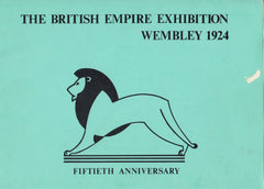 "115808 ""THE BRITISH EMPIRE EXHIBITION WEMBLEY 1924"" 50TH ANNIVERSARY BOOKLET."