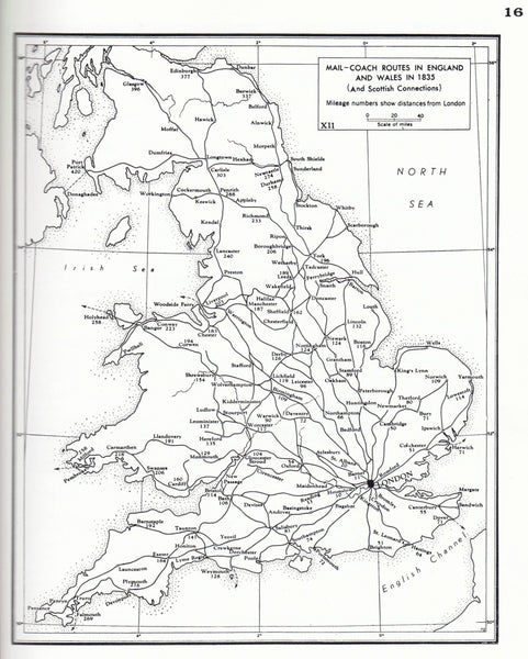 115961 'GREAT BRITAIN POST ROADS, POST TOWNS AND POSTAL RATES 1635-1839' BY ALAN ROBERTSON.