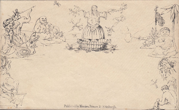 118247 MENZIES 'WASHER WOMAN' CARICATURE.