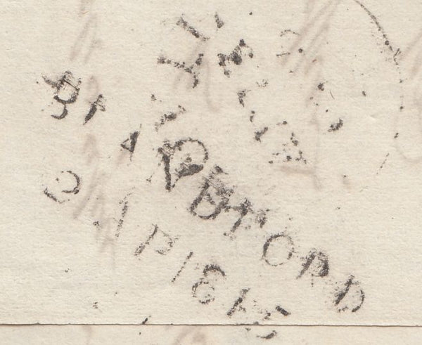 119704 1845 DORSET/'BLANDFORD PENNY POST' HAND STAMP (DT56).