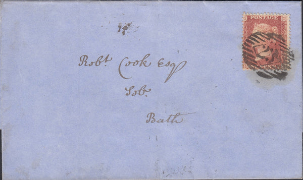 119923 PL.29 (SG29)(HB) ON COVER LONDON TO BATH.