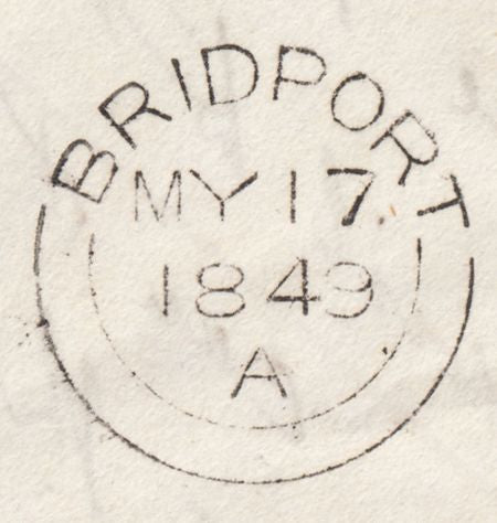 119956 1849 ENTIRE DORCHESTER TO BRIDPORT FINE PRINTED CONTENT AUCTION OF HOUSES AND LAND.