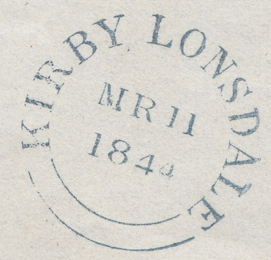 120043 PL.40 (SG8)(PE) ON COVER KIRBY LONSDALE TO HAWKSHEAD.