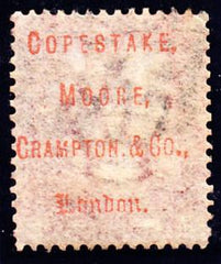 37756 - COPESTAKE MOORE UNDERPRINT/1D Pl.147 (CD)(SG 43 Sp...