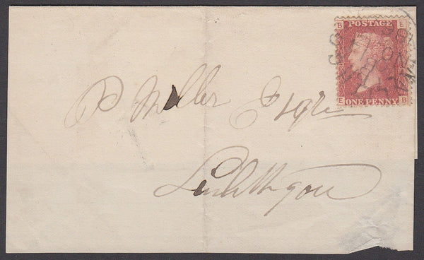 38993 - Pl.84 (EB)(SG43). 1865 large piece to Linlithgow b...