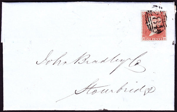 39880 - PL.167(RD)(SG8) ON COVER. Fine entire Evesham to Stourbridge