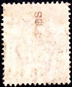 40718 - 1902 KEVII 1d (SG 219). A used example with partia...