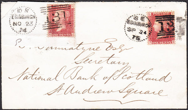 40903 - EDINBURGH DOTTED CIRCLE (RA10)/Pl.150(TB)(SG43). 1...