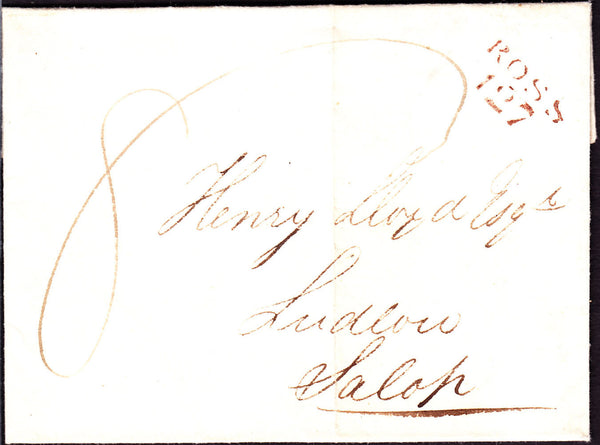 41067 - 'ROSS/127' MILEAGE MARK (HF 381). Undated wrapper ...