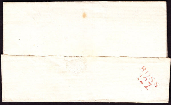 41072 - HEREFORDSHIRE/'ROSS 127' MILEAGE MARK (HF 381?). Undated wrapper...