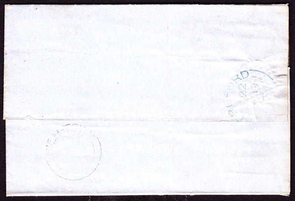 41138 - 'HIGH-TOWN' UDC (under Hereford). 1849 letter used...