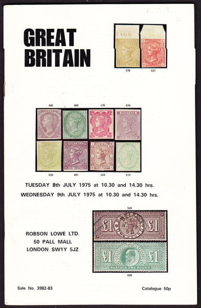43979 - ROBSON LOWE GREAT BRITAIN SPECIALISED 1975 8th-9th...