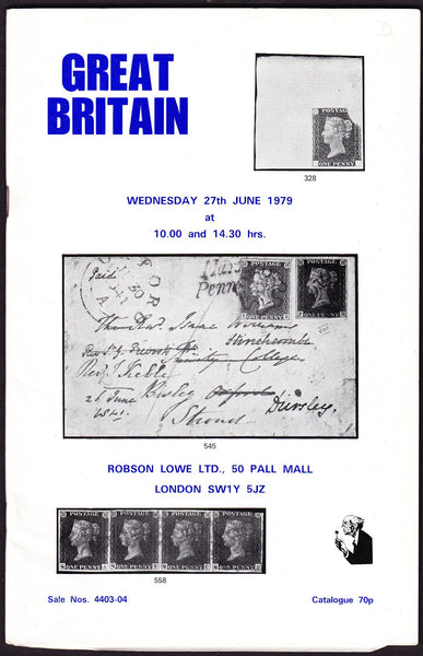 44004 - ROBSON LOWE GREAT BRITAIN SPECIALISED 1979 27th Ju...
