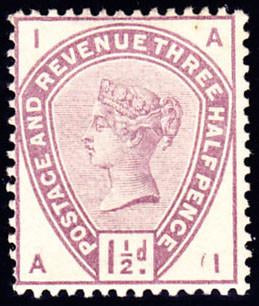 45342 - 1883 1½d lilac (SG 188). A good unmounted o.g exam...