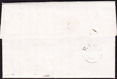 45944 - 1833 WARKS/'RUGBY' UDC (WA 244). Fine entire Rugby to Henley-in...