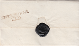 48063 - DORSET/'SHERBORNE 119' MILEAGE MARK (DT515). Undated letter Sherborne to Dorchester wit...