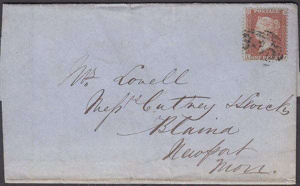 52734 - Pl.15 (LJ)(SPEC C6). 1856 wrapper (slight imperfec...