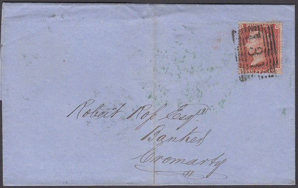 52753 - 1855 wrapper Edinburgh to Cromarty with good to fi...
