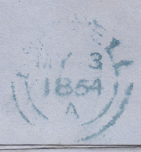 53205 - HULL SPOON (RA 38)/Pl.173(OA)(SG17). 1854 letter H...