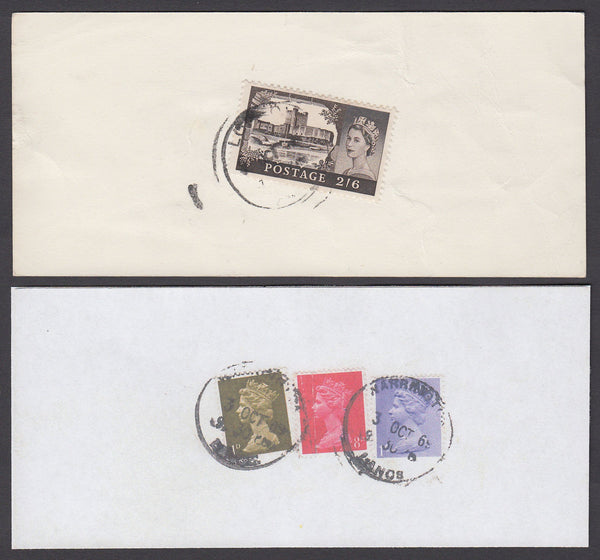 55194 - 1969 'Post Office Receipt' with 2/6d castle cancel...