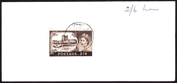 55198 - Circa. 1969 'Post Office Receipt' with 2/6d castle...