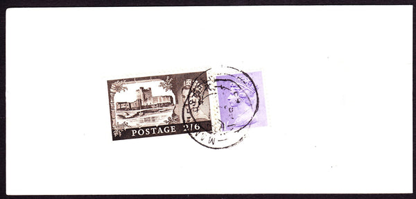 55205 - 1969(?) 'Post Office Receipt' with 2/6d castle and...