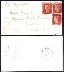 61874 - CRIMEAN WAR. 1855 envelope from The Crimea endorse...