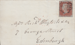 62414 - THE MALTESE CROSS OF STEWARTON (Scotland)/PL.38 (QF)(SG8).