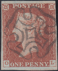 63213 - EDINBURGH MALTESE CROSS (Spec. B1ty Cat. £120.00)/Pl.36 (SG8)...