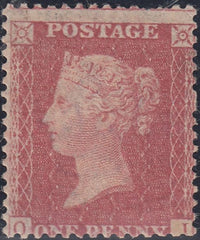 63786 - 1861 DIE 2 PLATE 65 (SG40)(OI) MINT EXAMPL...