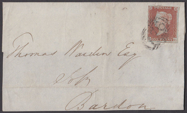 64192 - Pl.67(DC)SG8). 1847 large piece from Taunton with ...