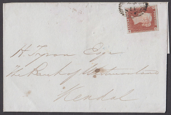 64196 - Pl.66 (TE)(SG8). 1846 wrapper London to Kendal wit...