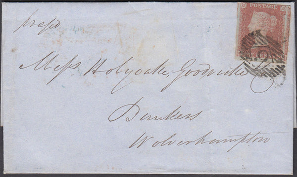 65339 - Pl.88 (SG8)(FB). (1849 wrapper London to Wolverham...