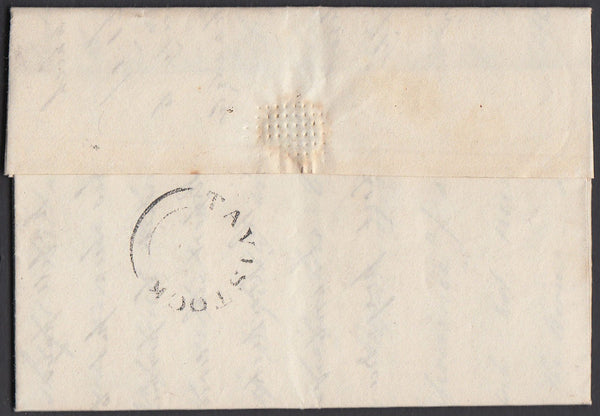 67204 - DEVON. 1832 letter Tavistock to Plymouth dated 24t...
