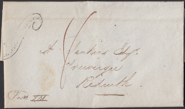 "67347 - DEVON - THE ""TAVISTOCK SCROLL"" (DN1335). 1834 enti..."