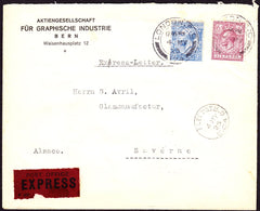 67579 - 1925 EXPRESS MAIL LONDON TO FRANCE. Envelope Lond...
