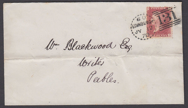 67707 - EDINBURGH DOTTED CIRCLE (RA12)/Pl.177(JD)(SG43). 1...
