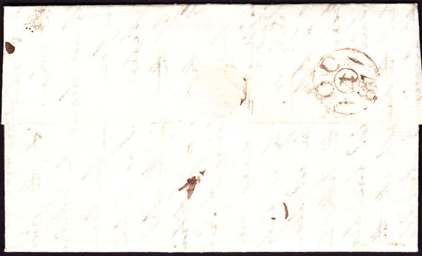 "70156 - 1887 entire London to Norwich with manuscript ""5"" ..."