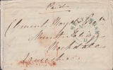 70250 - GLOUCESTERSHIRE. 1844 envelope Cheltenham to Rochd...
