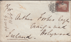 70638 - BATH MALTESE CROSS. 1844 envelope Bath to Holywood