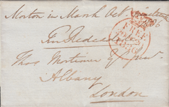 71066 - GLOS. 1836 entire sent free mail Moreton in Marsh ...