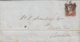 71423 - Pl.61 (HB)(SG8) ON COVER. 1846 wrapper (slight soiling) Ulv...