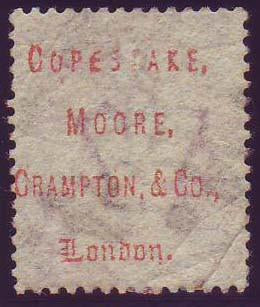 72930 - COPESTAKE MOORE UNDERPRINT ON 1½ SHIELD PLATE 1 (S...